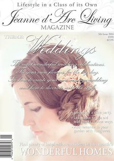 The WEDDING issue is ready for pre order!