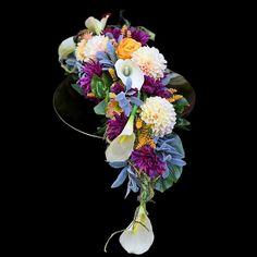 Dek. nagrobne Gerbera, Floral Wreath, Crown, Wreaths, How To Make, Decor, Floral Crown, Corona, Decoration