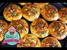 Pişi / Puf Kabaran Mayasız Hamur Kızartması (Peynirli Baharatlı) Ayşenur Altan - YouTube