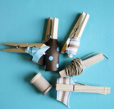 A great way to organize and store scraps of ribbon.