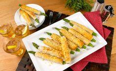 "Look at this asparagus recipe: ""Crispy Asparagus Straws Recipe ""  @Amy Berr"