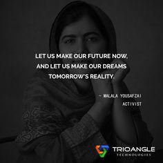 #MalalaYousafzai #Activist #quotesoftheday #quotes #inspirationalquotes #lifequotes #motivation #quotesforlife #morningquotes http://www.trioangle.com/airbnb-clone/