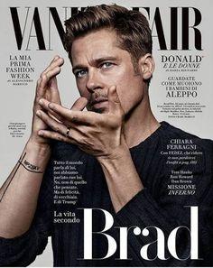 Brad Pitt - Vanity Fair Magazine Cover [Italy] (October 2016)