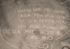 Star Walls - Scritte sui muri. — Messaggio particolare