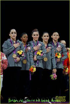 U.S. Women's Gymnastics Team Wins Gold Medal! So happy for them!