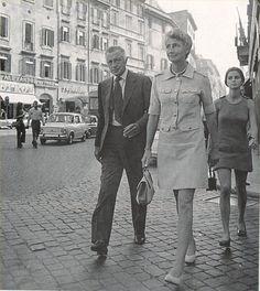 Giovanni Agnelli e sua sorella Susanna Agnelli