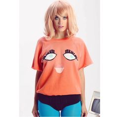 •WILDFOX• Bat Your Lashes Frenchie Sweater You guys I honestly don't know what this cutie is called  it is sweatshirt material with soft terry inside, cut off sleeve style. I also have a small available! Wildfox Tops Tees - Short Sleeve