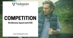 Win Mens apparel from Vedoneire of Ireland - Competitions. Ireland, Competition, Menswear, Website, Clothing, Outfits, Men Wear, Irish, Men Clothes