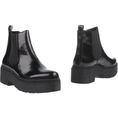 Jeffrey Campbell Ankle Boots ($118) ❤ liked on Polyvore featuring shoes, boots, ankle booties, black, jeffrey campbell booties, short black boots, black boots, leather bootie and leather ankle boots