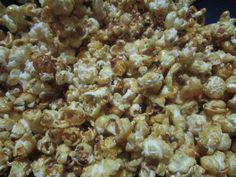 Devaneios Culinários da Tiazinha: Pipocas Doces e Pipocas com manteiga de amendoim