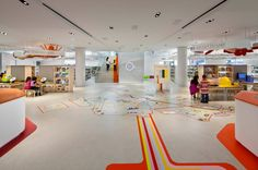 2014 Library Interior Design Award Winners : Image Galleries : Library Interior Design Award : IIDA
