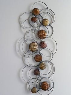 Metal Circle Wall Decor silver circles metal wall decor | wall decor, walls and bathtubs