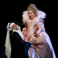 Juan Diego Florez and Diana Damrau in Rossini's hilarious Le Comte Ory    #opera #Rossini    © Marty Sohl / Metropolitan Opera