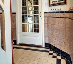tegels  mozaiek com  Jaren 20 & jaren 30 woning  tegels  badkamers