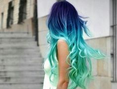 One of the most Beautiful colorful hair I ever seen