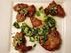 Pan-Fried Sweetbreads Piccata