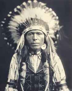 Red Thunder (the nephew of Chief Joseph) - Nez Perce - 1903
