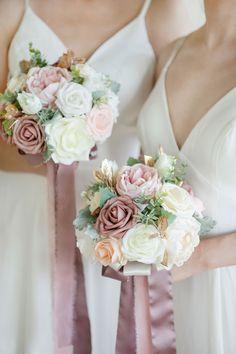 Dusty Rose Wedding, Rose Wedding Bouquet, Bridal Flowers, Floral Wedding, Wedding Colors, Blush Pink Wedding Cake, Bridal Bouquet Pink, Blush Wedding Flowers, Wedding Ceremony Flowers