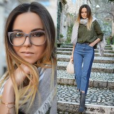 Get this look: http://lb.nu/look/8607835  More looks by Tamara Bellis: http://lb.nu/tamarabellis  Items in this look:  Zaful Shirt, Zaful Jeans, Zaful Scarf, Zaful Bag, Yoins Boots, Wear Me Pro Glasses   #casual #chic #street