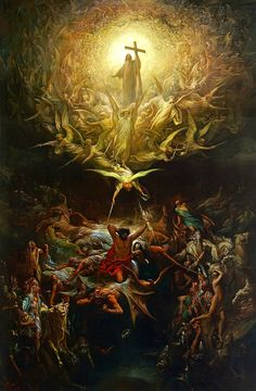Paul Gustave Doré - The Triumph of Christianity over Paganism