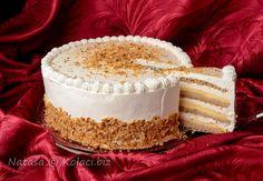 Interkontinental torta u tri sloja Torte Recepti, Kolaci I Torte, Baking Recipes, Cookie Recipes, Dessert Recipes, Best Christmas Cookies, Christmas Desserts, Cupcakes, Cake Cookies