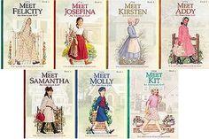 American Girl books - KIT WAS NOT AN ORIGINAL AMERICAN GIRL!