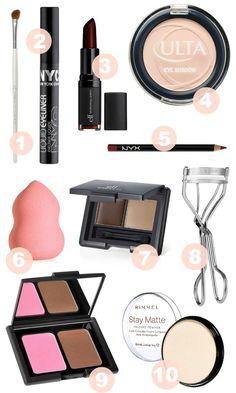 best makeup under five dollars for sensitive skin