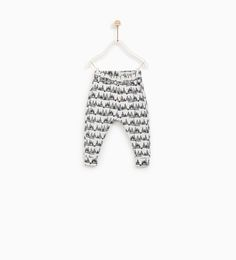 ZARA - KIDS - TRIANGLE PRINT LEGGINGS