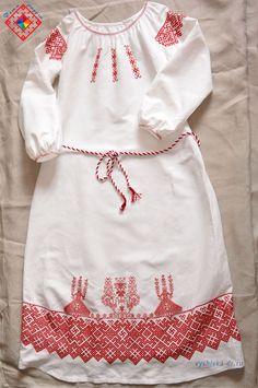 Славянское свадебное платье