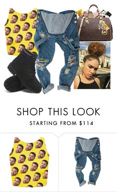 """""""Drake"""" by slayed-fashion ❤ liked on Polyvore featuring Timberland"""