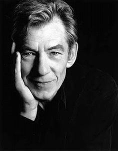 Ian McKellen, has the voice, charisma and acting chops to play wise dragon, Sedgewick, patriarch of all dragon races in Fendellin. Celebrity Photographers, Celebrity Portraits, Sir Ian Mckellen, Black And White Portraits, British Actors, Rembrandt, Look At You, Famous Faces, Belle Photo