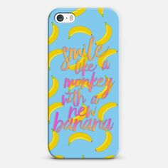 Smile Like A Monkey With A New Banana - Classic Snap Case