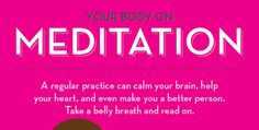This Is Your Body On Meditation (Infographic)