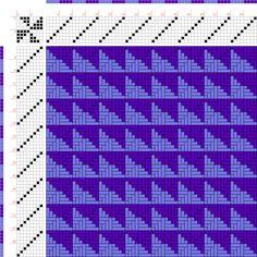 draft image: Figurierte Muster Pl. XXI Nr. 5 (b), Die färbige Gewebemusterung, Franz Donat, 8S, 8T