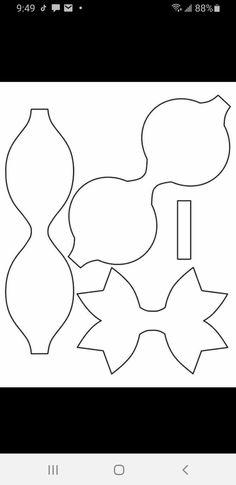 Bow Template, Templates, Diy Hair Accessories, Felt Diy, Baby Bows, Ribbon Bows, Diy Hairstyles, Arts And Crafts, Cricut