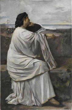 Anselm Feuerbach, Iphigenie, 1871, Öl auf Leinwand, 192,5 x 126,5 cm, Staatsgalerie Stuttgart; Foto: Staatsgalerie Stuttgart