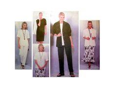 """Vogue 2139 Women's Jacket, Dress, Top, Skirt & Pants Misses' / Miss Petite Size 14, 16, 18 Bust 36, 38, 40"""" Sewing Pattern Uncut"""