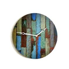 Rustic Chic Wall Clock Home Decor Decor and by Shannybeebo on Etsy make myself