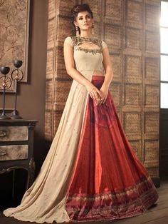 Traditional Indian Outfit Anarkali Suit