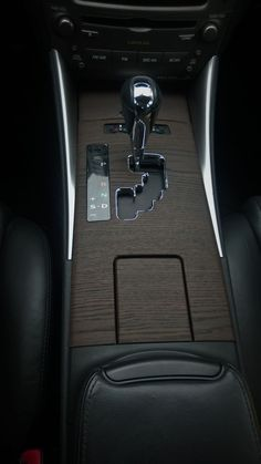 Car interior with wood vinyl wrap. Check out other products and services Design 2 Shine has to offer.
