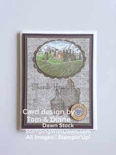 Stamping With Dawn: Tuscan Vineyard - Stampin' Up!