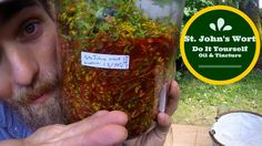 Join Herbal Jedi Yarrow Willard as he shares how to make your own Oils and Tinctures with fresh Saint John's Wort. Its easy, fun and a great way to extract t. Natural Cures, Natural Healing, Herbal Kitchen, Heath Care, Herbs For Health, Herb Recipes, Herbal Medicine, Herbal Remedies