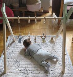 portique d'éveil DIY |