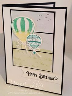 Happy Birthday, 2017 Occasions Catalogue, Stamp Set - Lift Me Up, Glamper Greetings, https://sunshinecards-creations.com/2017/02/03/fms-273/ , Stampin' Up!