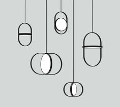 Minimal modern lamps More design inspirations and news at Luxxu Blog