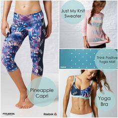 Yoga gear from partner Reebok
