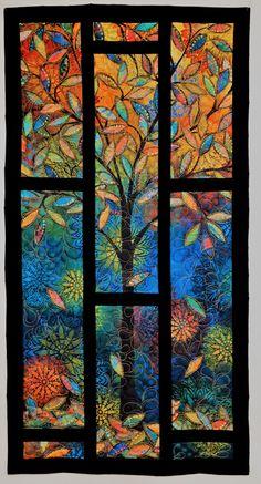 Panel Quilts, Quilt Blocks, Wall Hanging Lights, Halloween Table Runners, Quilt Storage, Halloween Quilts, String Quilts, Quilted Wall Hangings, Autumn Art