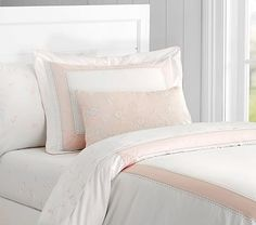 The Prettiest Pink Bedding | Sarah Sarna