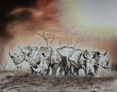 Oil Painting by Alta de Jager.