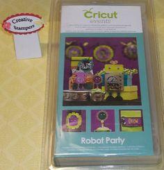 Cricut Robot Party Cartridge, paper crafting, embellishments, scrapbooking